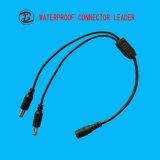 Yはねじ2 Pin 3 Pin IP67の交流電力に防水コネクターをタイプする