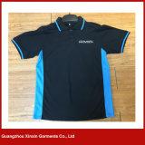 Camisas de T aptas do golfe do esporte do polo de Dri do bordado feito sob encomenda (P72)