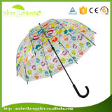 Зонтик размера подарка высокого качества прозрачный большой для промотирования