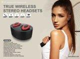Verdadeiro estilo sem fio do fone de ouvido Bluetooth Telemóvel Mãos Livres HiFi