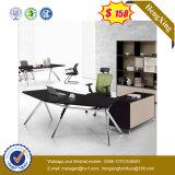현대 나무로 되는 사무용 가구 검은 호두나무 행정실 테이블 (UL-MFC391)
