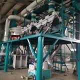 Semolina que faz a máquina da fábrica de moagem de trigo de trigo duro da máquina