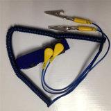 Blauwe ESD van de Lijn van pvc Antistatische Antistatische Armband