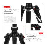 liga de alumínio de magnésio portátil profissional tripé Monopod & Cabeça esférica para câmara SLR Nikon Canon Petax Tripé da Sony