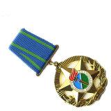 Venta al por mayor/metal/botón de encargo/Pin/estaño/policía/militar/emblema/nombre/divisa del esmalte/de la medalla (YB-p-014)