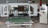 CNC van Hengkun de Scherpe Machine van de Spons van het Blad van de Ring met Horizontaal Mes
