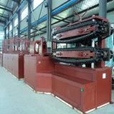 Câmara de ar ondulada hidráulica que dá forma à máquina