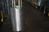 Fil d'acier galvanisé plongé chaud de carbone de 8 mesures