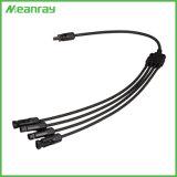 Solar Mc4 masculino y femenino, usa el conector del panel solar para el cable de 2,5 mm2 4mm2, Sistema PV Plug