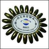 Ocrown Chamäleon-Chrom-Spiegel-Nixe-Funkeln-UVgel-Pigment-Puder