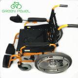 Livro Verde Gp-Kl Pedel1 Aprovado pela CE cadeira eléctrica dobrável com controlador de joystick
