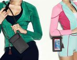 携帯電話袋PU革Crossbodyの袋のiPhoneのための肩ひもが付いている小型電話袋