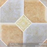 Los materiales de construcción del suelo rústico porcelánico azulejos mate para la decoración (VRR30I650, 300x300mm)