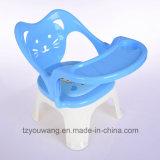 Het Voeden van de Baby van de fabriek In het groot Stoel de Plastic Stoel van het Diner met Schutblad