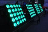 25LED *10W屋内LEDのマトリックスの視覚を妨げるものの段階Ligting