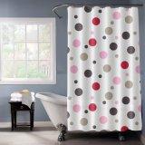 Nouveau design EVA d'impression en pointillé de rideau de douche avec de gros bon marché