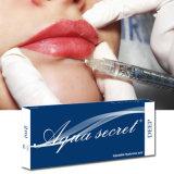 Enchimento cutâneo secreto Coreia do ácido hialurónico do Aqua