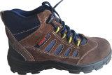 新しいデザイン牛革鋼鉄唯一の安全靴