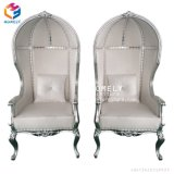 Foshan 가정 가구 금 왕위 임금과 여왕 의자 결혼식 의자