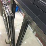 Perfil de alumínio indicador vitrificado dobro quebrado do toldo da ponte