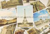 Carte postale chaude faite sur commande d'attraction touristique de papier de vente