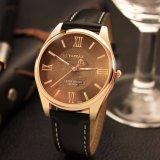 H370 höhlen erstklassige Rose goldene Fall-Mann-Uhr mit heraus Zeiger-Entwurfs-Uhr für Männer aus