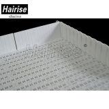 Förderband des Hairise Weiß-5936 mit Seitenwand