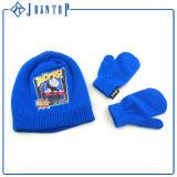 نمو جاكار أكريليكيّ يحبك قبعة قفاز وشاح مجموعة