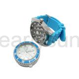 Herr-Art-Oberseite-Marken-Armbanduhr-Metalschleifer für Tabak-en gros rauchen (ES-GD-029)