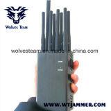 8 Jammers WiFi GPS L1 L2 L5 и 2g 3G 4G антенны Handheld весь Jammer сигнала телефона