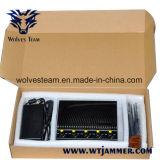 Jammer ajustável do telefone de pilha CDMA450 + de controle remoto