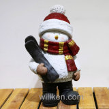Little Boy en gros populaire neuf sur une décoration de Noël de traîneau