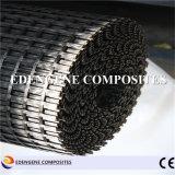 fibre de verre enduite Geogrid du bitume 150kn pour le renfort de trottoir d'asphalte