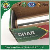 preço de fábrica do rolo de papel de alumínio para uso doméstico com Caixa de Papelão Ondulado