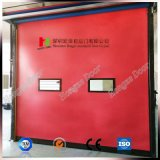 PVC automático de la puerta de persiana de rodillos de alta velocidad