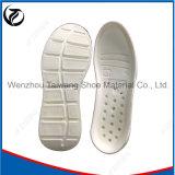 Bas unique/deuxième de chaussure rayée blanche de stomies de chaussure
