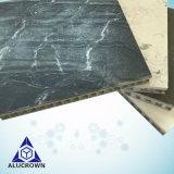 Os mosaicos de mármore de ouro de pedra natural/Bancadas de trabalho/lajes/Flooring