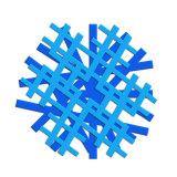 Hot la vente de forme ronde en PVC souple Cup Coaster