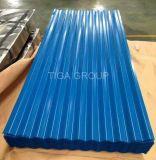Stahldach-Blatt gewelltes galvanisiertes Dach-Material färben