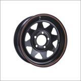 すべては13-17インチの点の証明の鋼鉄トレーラーの車輪を大きさで分類する