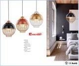 Iluminação interior criativa moderna Lâmpada Pendente de alumínio para Hotel
