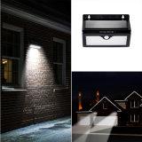 Luz al aire libre impermeable de la pared del camino del jardín del panel 46 del sensor ligero solar de la lámpara