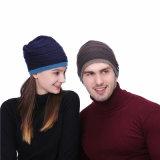 Neuer weicher Kopfhörer-WinterBeanieknit-Acrylmusik-Hut der Form-2018 kundenspezifischer warmer drahtloser