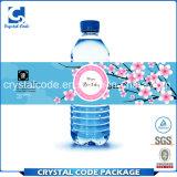 Высокий квалифицированный ярлык стикера бутылки воды