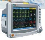 Machine van het ELECTROCARDIOGRAM ECG van de Elektrocardiograaf van de Monitor van de multiparameter de Geduldige