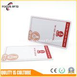 PVC de qualité et carte 13.56MHz d'IDENTIFICATION RF de plastique