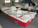 Fabricantes do barco do estilo do Panga dos barcos de pesca da fibra de vidro de Liya