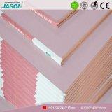 Tarjeta de yeso decorativa del Fireshield de Jason para el techo Material-15mm