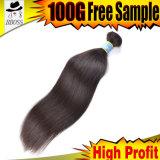 Продукты волос бразильского 10A Зажим-в волосах