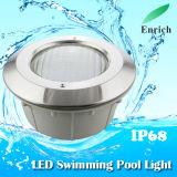 Wasserdichter IP68 eingebetteter Typ LED-Pool-Licht mit verschiedenen Farben
